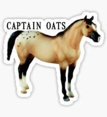 Captain Oats Sticker