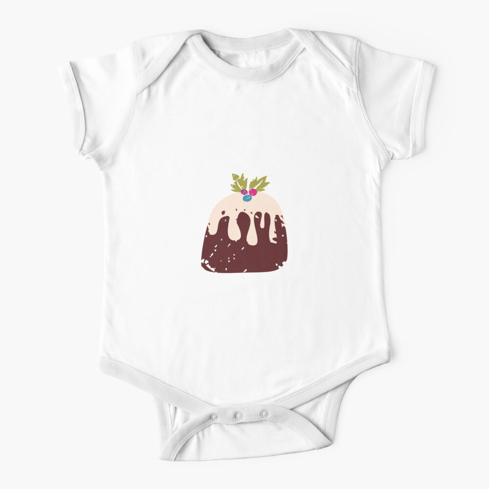 Chocolate Pie Short Sleeve Baby One-Piece