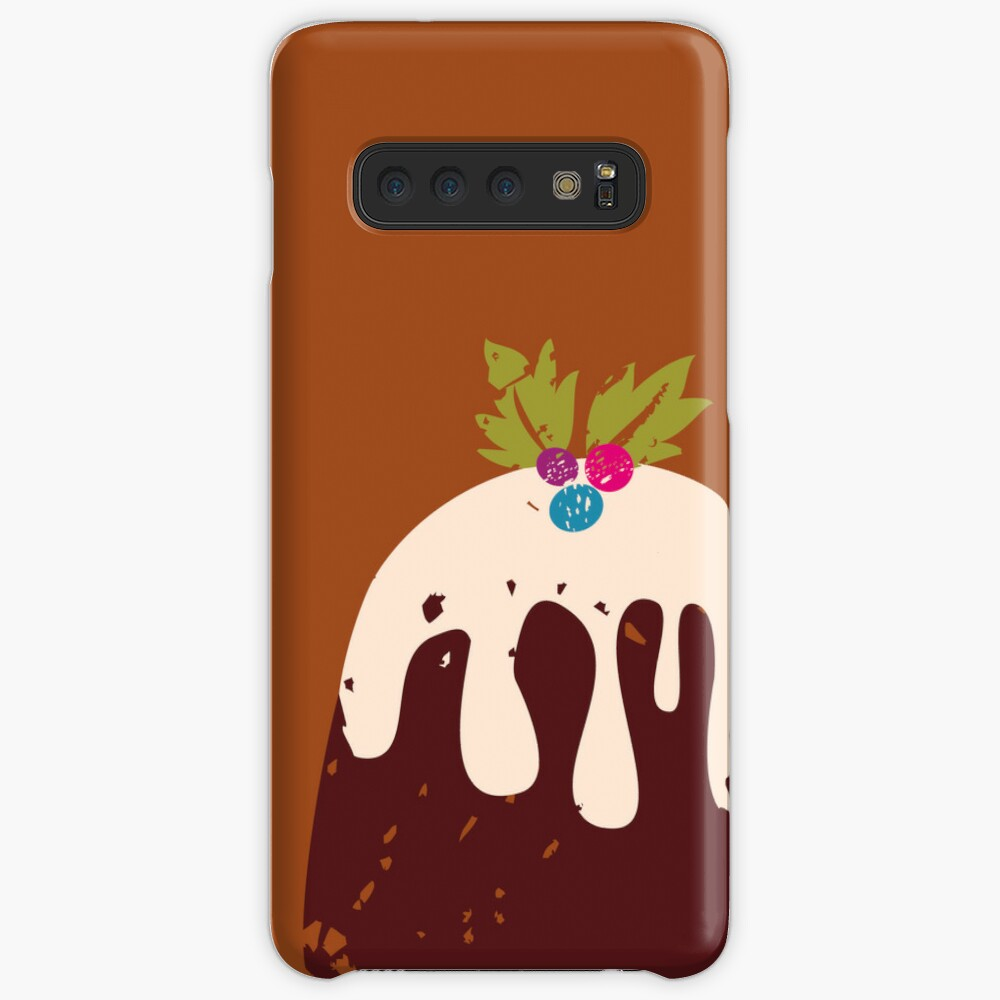 Chocolate Pie Case & Skin for Samsung Galaxy
