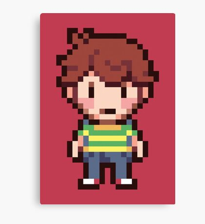 Travis - Mother 4 Canvas Print