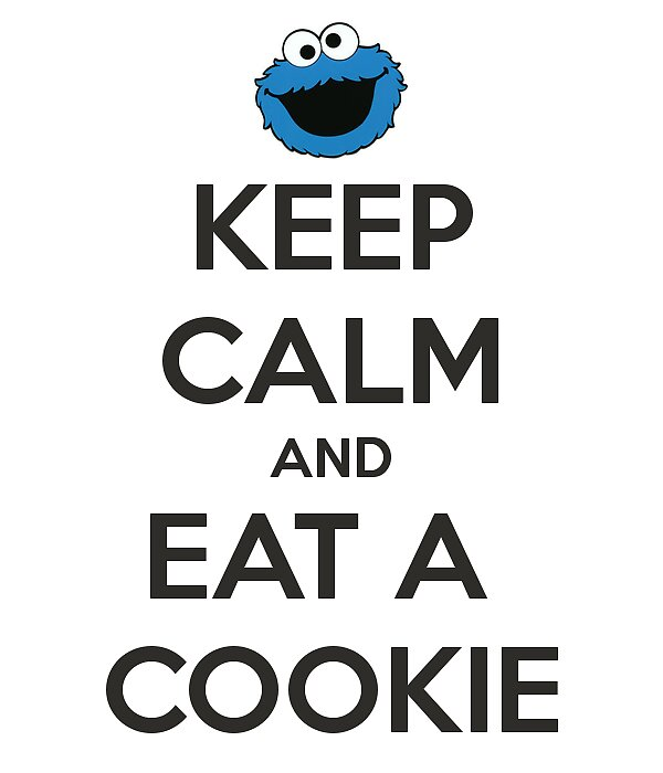 Keep Calm And Carry On - COOKIE Original by Funnyquotations