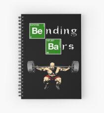 Breaking Bad Walter White Gym Motivation Spiral Notebook
