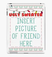 Ugly Christmas Sweater iPad Case/Skin