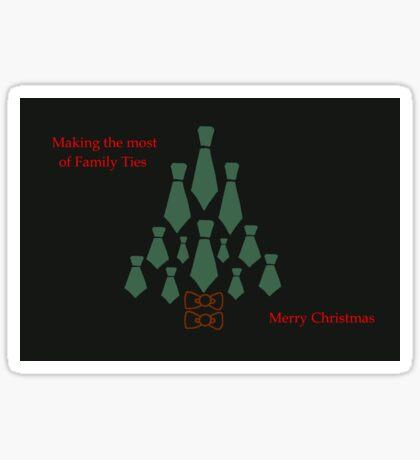 Family Ties Sticker