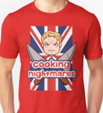 Cooking Nightmares Unisex T-Shirt