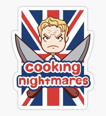 Cooking Nightmares Sticker