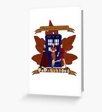 Clara and The Doctors Greeting Card