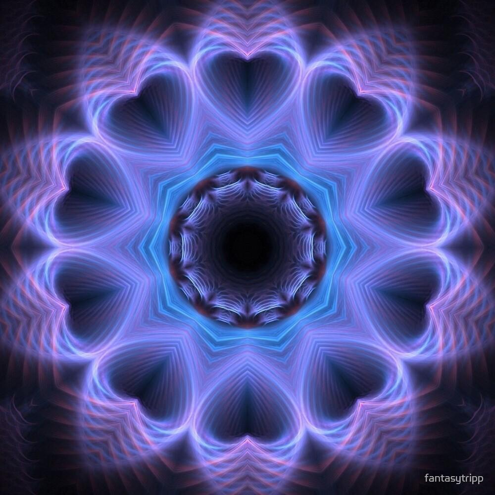 Halo Heart Kaleidoscope 01 by fantasytripp