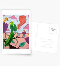 Praying Mantis Postcards