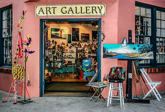 Welcome To The Gallery! by Heather Friedman