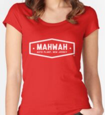 Mahwah Auto Plant - Inspired by Bruce Springsteen's 'Johnny 99' (unofficial) Women's Fitted Scoop T-Shirt