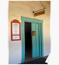 San Juan Bautista Mission Poster