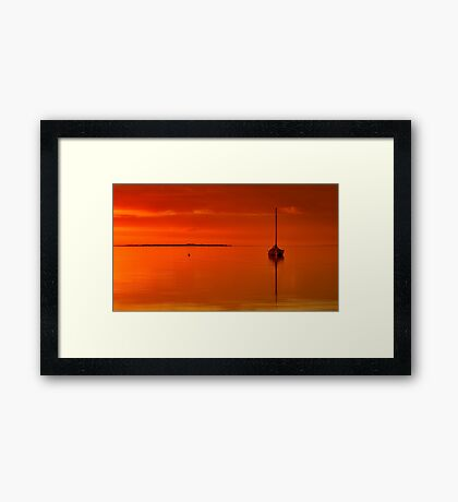 """""""Solitude And Serenity"""" Framed Print"""
