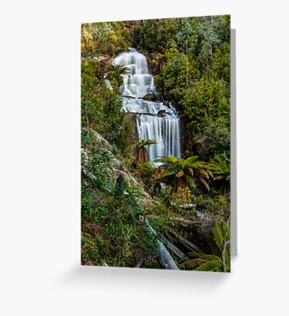 Fainter Falls - Bogong Victoria Greeting Card