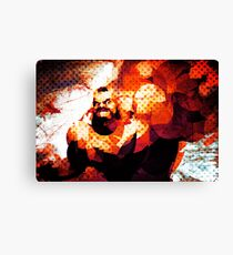The Russian Wrestler 2 Canvas Print