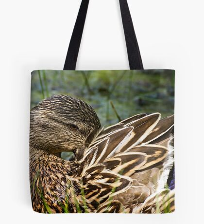 The Coy Duck Tote Bag