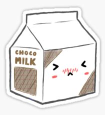 milk carton drawing stickers redbubble rh redbubble com milk carton drawing tumblr milk cartoon drawing