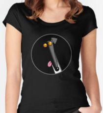 Derp in the Dark Women's Fitted Scoop T-Shirt