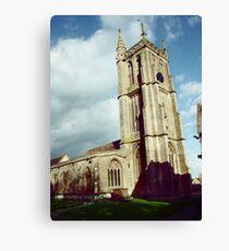 Colerne Church Canvas Print