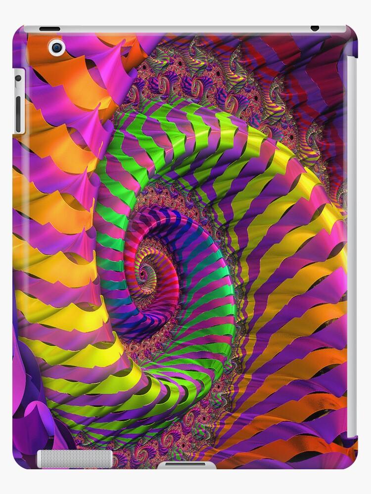 Coloured Spiral wheel by designed2dazzle