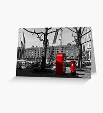 St Katherine's Dock Greeting Card