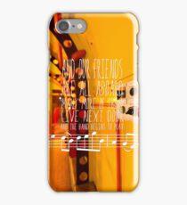 Yellow Submarine - The Beatles - Lyric Poster iPhone Case/Skin