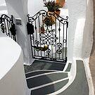 Santorini stairway by Rich51