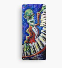 The Acid Jazz Jam - Piano Canvas Print