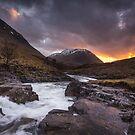 River Etive, Glen Etive by Brian Kerr