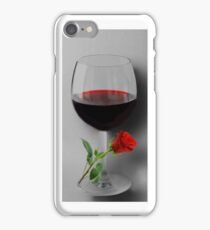 (✿◠‿◠) WINE WITH ROSE IPHONE CASE (✿◠‿◠) iPhone Case/Skin