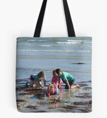 Fun in the Winter Sun! Fort Glanville,Adelaide Beach, Sth. Australia. Tote Bag