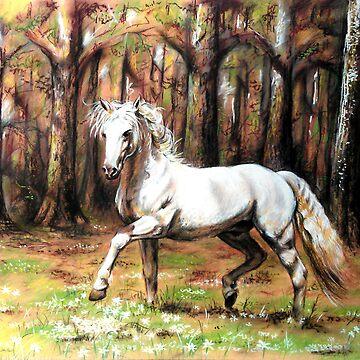 Horse by Unicornuss