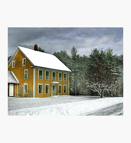 The Mustard House Photographic Print