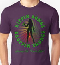 Rippin Bongs-1 (solid) Unisex T-Shirt