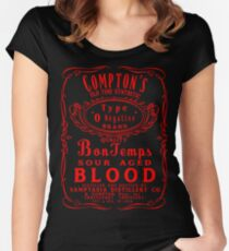 Compton's Old Time O Negative Women's Fitted Scoop T-Shirt