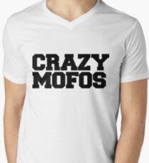 Crazy Mofos Men's V-Neck T-Shirt