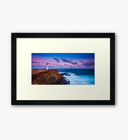 Cape Nelson Lighthouse - Dusk Framed Print