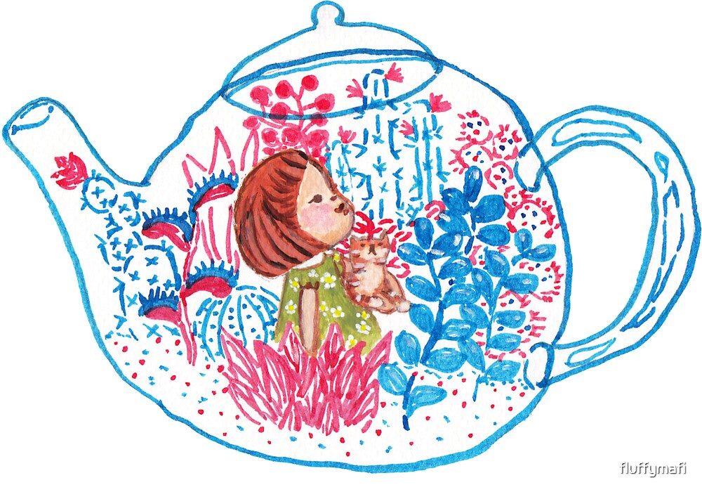 Teapot Terrarium by fluffymafi