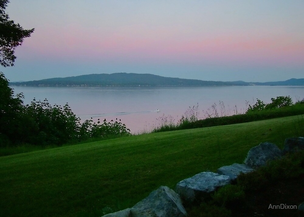 Twilight over MILL BAY by AnnDixon