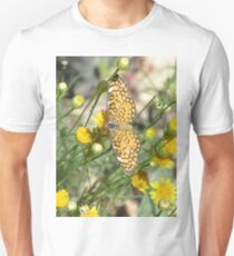 Tiny Checkerspot Butterfly T-Shirt