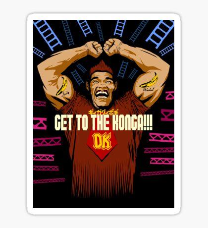Burger Kong Sticker