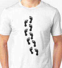 Track of Footprints Unisex T-Shirt