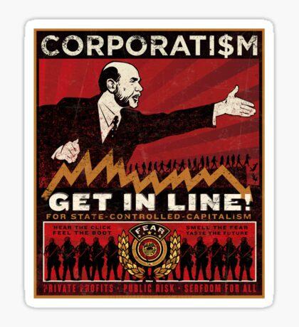 Corporatism Sticker