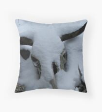 Longhorn Freezie Redux Throw Pillow