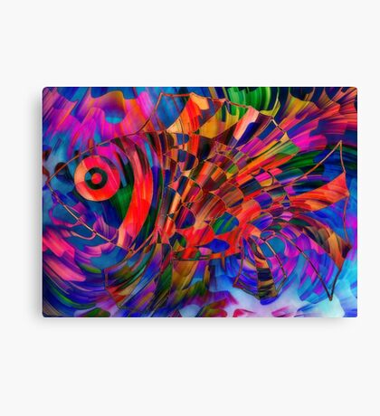 Playing with colours Canvas Print