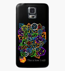 D&D (Dungeons and Dragons) - This is how I roll! Case/Skin for Samsung Galaxy