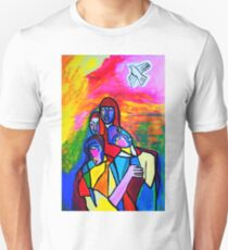 The White Dove Unisex T-Shirt