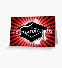 congratulations doctor Greeting Card