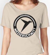 Messerschmitt Aircraft Company Logo (Black) Women's Relaxed Fit T-Shirt