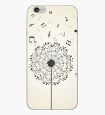 Music a dandelion iPhone Case